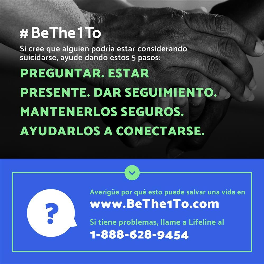 #BeThe1To