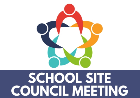 School Site Council Meeting 9/30 @ 2:30 pm