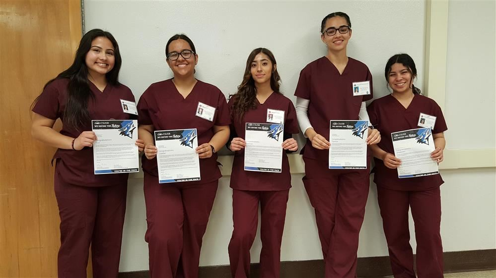 Nine aspiring nurses from Fontana Unified's Class of 2020 will further their education at Cal State