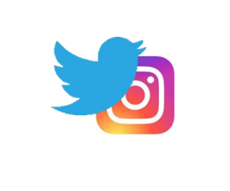 Help us Increase our Twitter and Instagram Followers