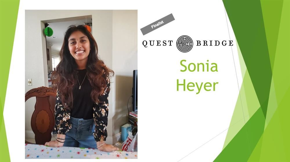 Sonia Heyer QuestBridge FInalist